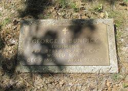 Pvt George E Bundick