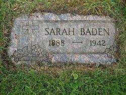 Sarah <i>Borowski</i> Baden