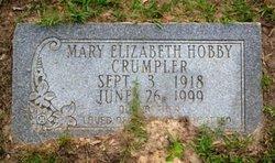 Mary Elizabeth <i>Hobby</i> Crumpler