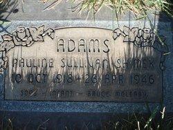Pauline Sullivan Adams