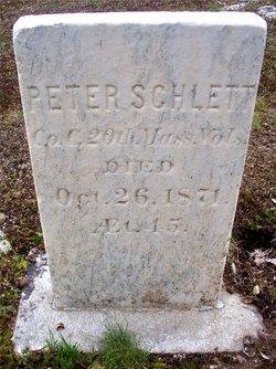 Pvt Peter Schlett