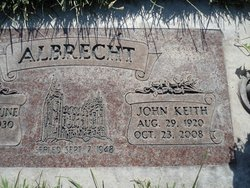 John Keith Albrecht