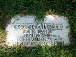 Pvt George Ardell Leemon