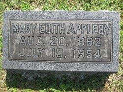 Mary Edith <i>McLane</i> Appleby