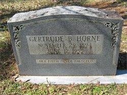 Gertrude <i>Billings</i> Horne