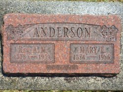Rev August M Anderson