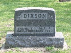 Ora Jasper Ode Dixson