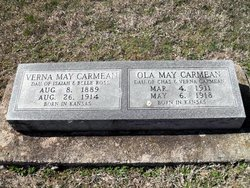 Verna May <i>Ross</i> Carmean
