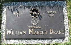 William Marcus Bill Brake
