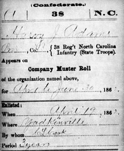 Pvt Harvey J. Adams