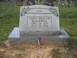 John Malcolm Blackwell
