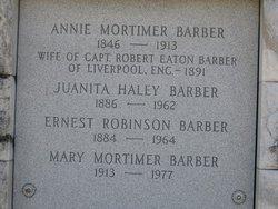 Annie <i>Mortimer</i> Barber