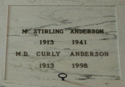 Melvin Denton Curly Anderson