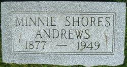 Minnie <i>Shores</i> Andrews