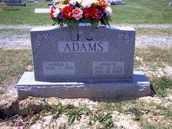 Harold Wayne Noody Adams