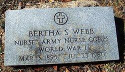 Bertha S. Webb