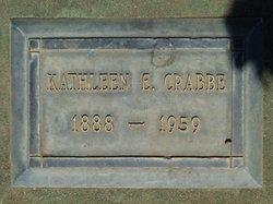 Kathleen E Crabbe