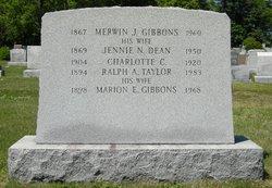 Jennie N. <i>Dean</i> Gibbons