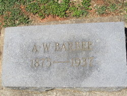 Alpheus Whitfield Whit Barbee