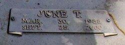 June T Barrow
