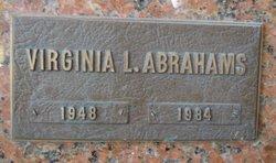 Virginia L Abrahams