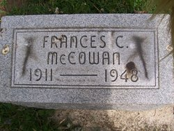 Frances C McCowan