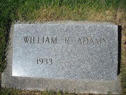 William R Bill Adams