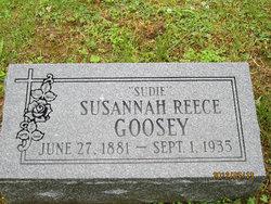 Susannah Sudie <i>Reece</i> Goosey