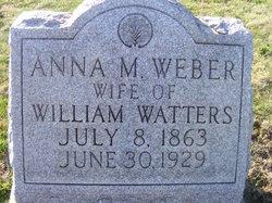 Anna Marie <i>Weber</i> Watters