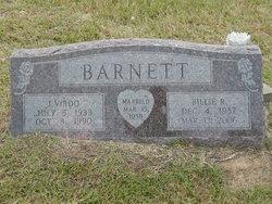 Mrs Billie Ruth Barnett