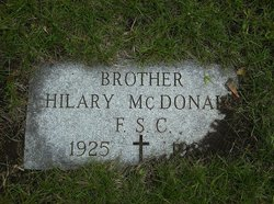 Br Hilary McDonald