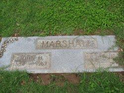 Lela M <i>Frazier</i> Marshall