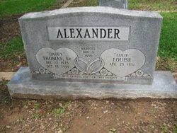 Thomas Carlton Alexander, Sr