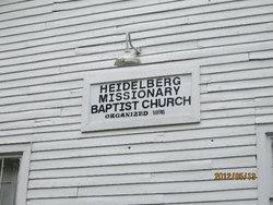 Heidelberg Baptist Church Cemetery