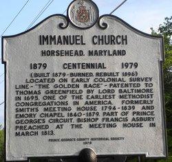 Immanuel United Methodist Church Cemetery