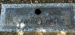Shirley Ann <i>Frazier</i> Zasimowich