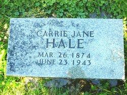 Carolyn Jane Carrie <i>Skinner</i> Hale