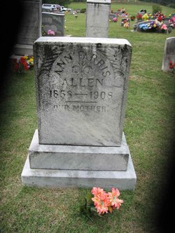 Martha Ann <i>Devault</i> Allen