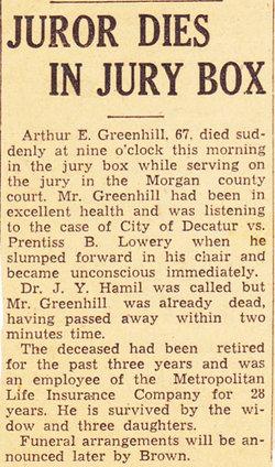 Arthur Edgar Greenhill