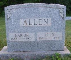 Lillie Mae <i>Hupp</i> Allen