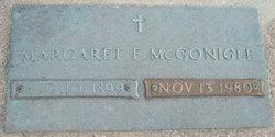 Margaret F. <i>Voelker</i> McGonigle