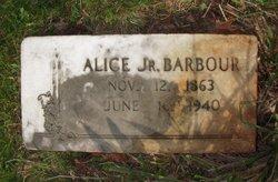 Alice Jr Barbour