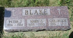 Mary Ann <i>McGovern</i> Blake