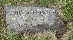 John R Emerson
