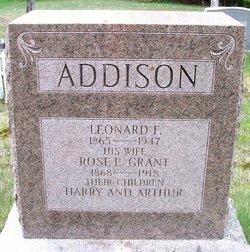 Rose Ellen <i>Grant</i> Addison