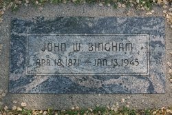 John William Bill Bingham