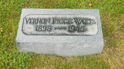 Vernon Price Watts