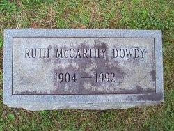 Ruth <i>McCarthy</i> Dowdy