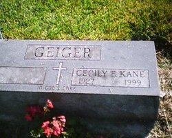 Cecily F <i>Kane</i> Geiger