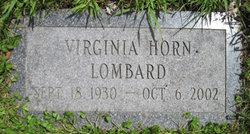 Virginia Mae <i>Horn</i> Lombard